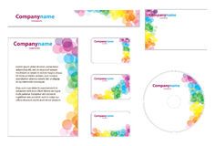 Business Set. Nice Corporate Identity Template Vector Stock Images