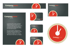 Business Set. Nice Corporate Identity Template Vector Royalty Free Stock Images