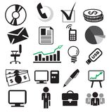 Business set Stock Images