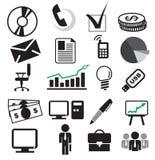 Business set. Set vector illustration of business Stock Images