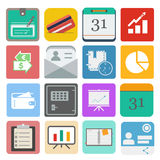 Business set icon. Business. business set icon on the white backgroung. vector illustration Royalty Free Stock Photos