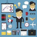 Business set Stock Image