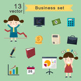 Business set Royalty Free Stock Photography