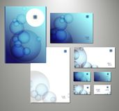 Business set. Vector illustration. Abstract business set. Corporate identity templates Royalty Free Stock Photos