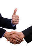 Business shake hand Royalty Free Stock Photography