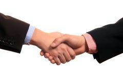 Business shake hands Stock Image