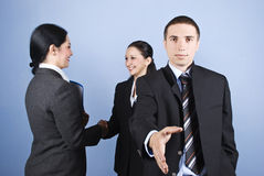 Business shaking hands Royalty Free Stock Photo