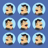 Business Shareholder Icon Set Royalty Free Stock Images