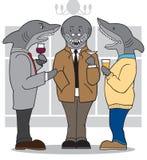 Business Sharks stock illustration