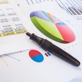 Business sheet royalty free stock image