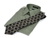 Business shirt and tie Royalty Free Stock Photography
