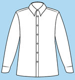 Business shirt (Vector) Stock Images