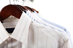 Business shirts Royalty Free Stock Photos