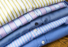 Business Shirts Detail royalty free stock image