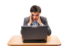 Business shock Royalty Free Stock Photo