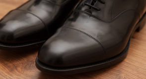 Business Shoes Stock Photography