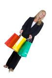 Business shopper Stock Photo