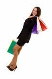 Business shopper Stock Image