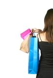 Gift shopping Stock Image