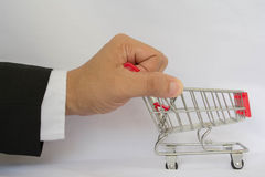 Business shopping Stock Photography