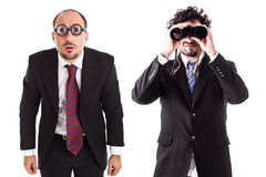 Business sight differences Stock Image