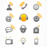 Business signal collection icon Royalty Free Stock Photos