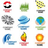 Business simbols. Set of business simbols. show concept of traveling, nature vector illustration
