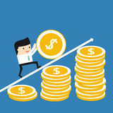 Business situation Stock Image