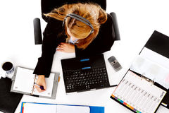 Business situation at work Stock Image