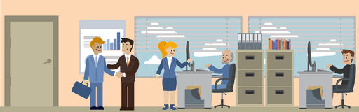 Business situations banner Stock Image