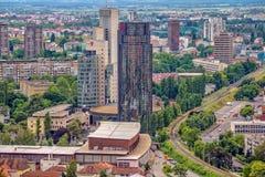 Business skyscraper Cibona Stock Images