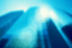 Business skyscrapers background. Blur, defocued Royalty Free Stock Images