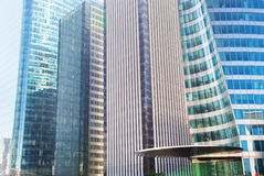 Business skyscrapers modern architecture Royalty Free Stock Image