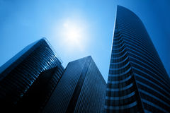 Business skyscrapers Stock Images