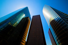 Business skyscrapers stock photos