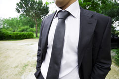 Business smart man Stock Photo