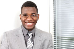 Business smile Stock Images