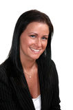 business smiling woman Στοκ Φωτογραφία