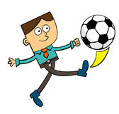 Business soccer Stock Image