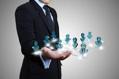 Business social. Stock Photo
