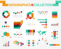 Business and social infographics Royalty Free Stock Photography