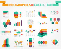 Business and social infographics Royalty Free Stock Image
