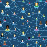Business  social people diagram Royalty Free Stock Photography
