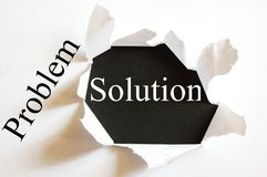 Business solution Royalty Free Stock Photo