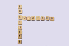 Business solution abstact Stock Photo