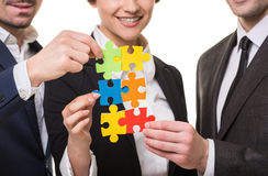Business solution Stock Images