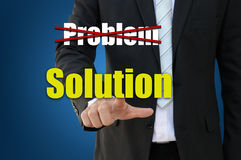 Business solution concept Royalty Free Stock Photography