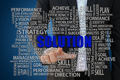 Business Solution Concept Stock Images