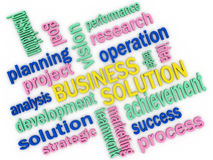 Business solution concept Stock Photo