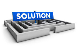 Business Solution Concept Stock Photography